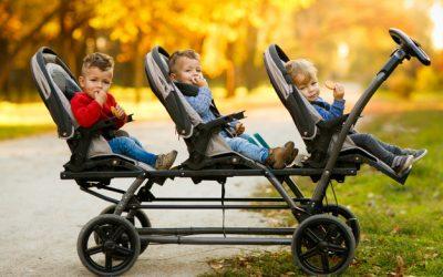Alegerea caruciorului pentru gemeni si tripleti